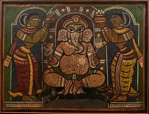 Jamini ROY - Painting - Ganesh