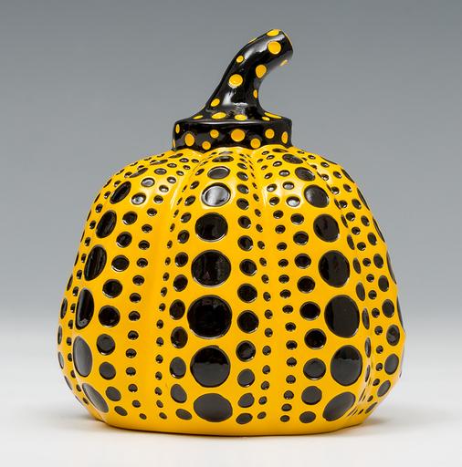 Yayoi KUSAMA - Sculpture-Volume - Pumpkin