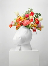 杰夫·昆斯 - 陶瓷  - Split-Rocker Vase