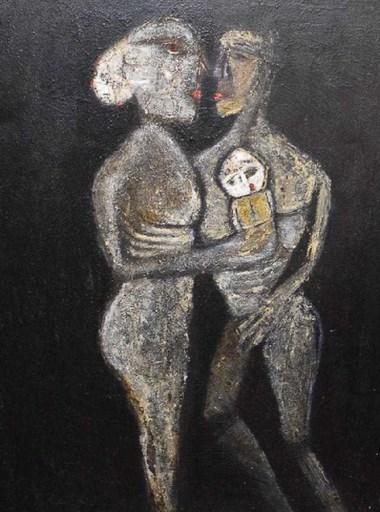 Adriano NICOT - Painting - Retrato de Familia