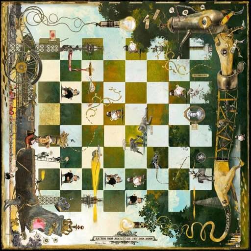 Bruno MALLART - Scultura Volume - Le roi des jeux et le jeu des rois
