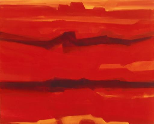 Bernd ZIMMER - Pintura - Painted Desert III
