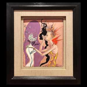 Salvador DALI - Peinture - Le Mannequin