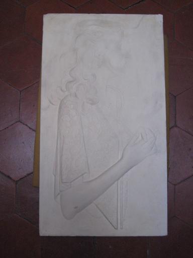 Joseph CSAKY - Sculpture-Volume - PROFIL DE JEUNE FILLE