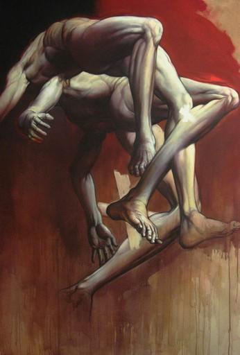 Claude DUVAUCHELLE - Pintura - Figuration Christique