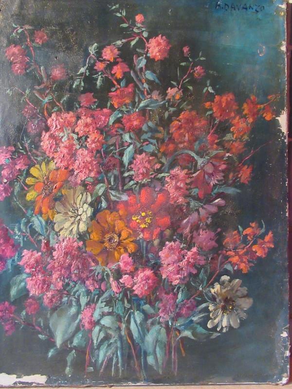 Marco DAVANZO - Pintura - Bouquet