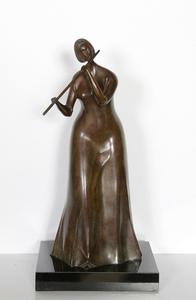Branko BAHUNEK - 雕塑 - The Flautist