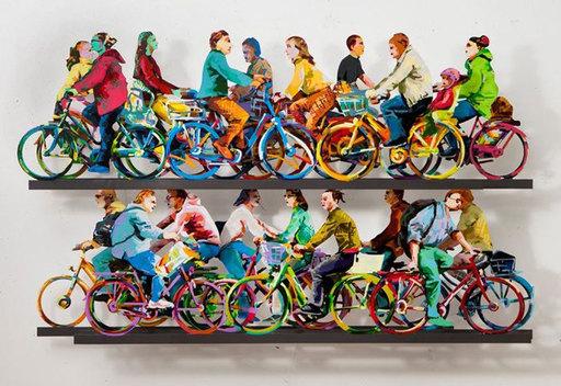 David GERSTEIN - Escultura - City Riders A