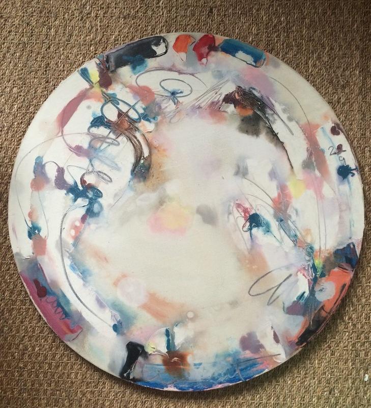 Georges VAN HAARDT - Painting - Composiriln