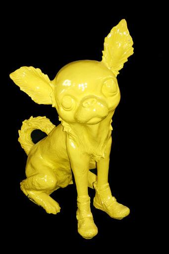 William SWEETLOVE - Sculpture-Volume - Cloned Yellow Chihuahua