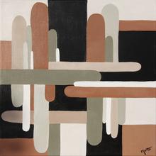 Brigitte THONHAUSER-MERK - Pintura - Petite Abstraction