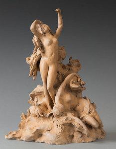 Jules Jacques LABATUT - Sculpture-Volume - La naissance de Vénus