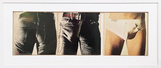 "安迪·沃霍尔 - 版画 - Vinyl record ""Sticky Fingers"" - The Rolling Stones"