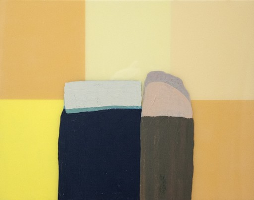David CANTINE - Painting - Things with Tops