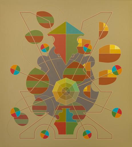 Enrique Rodriguez GUZPENA - Painting - Los círculos de la eternidad