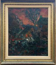 Louis AMALVY - Painting - LES CHEVRES