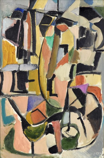 André LANSKOY - Painting - Lecture Pour un Sourd-Muet