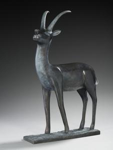 Brigitte TEMAN - Sculpture-Volume - Gazelle