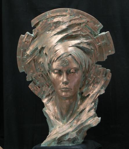 Patrick BERTHAUD - Escultura - Mina