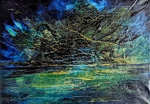 Dann AUBERT - Peinture - Un Monde sans Fin