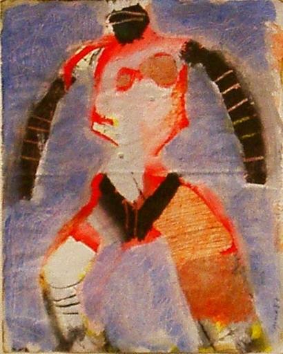 Albrecht GENIN - Peinture - Der Boxer