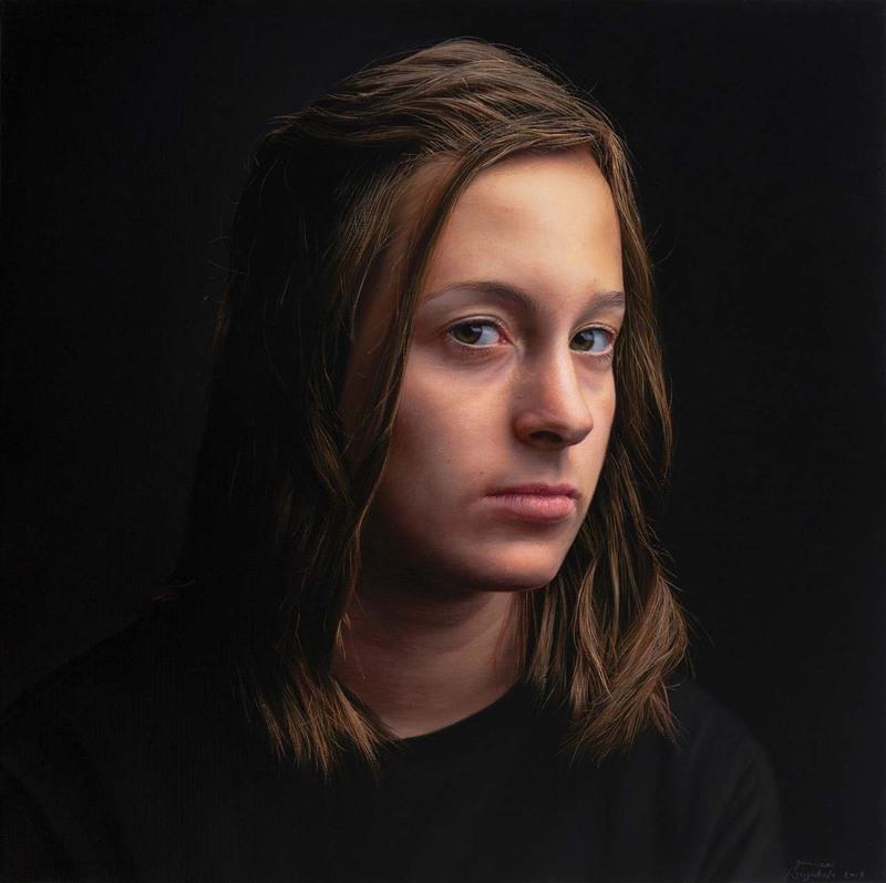 Javier ARIZABALO GARCIA - Painting - Nerea