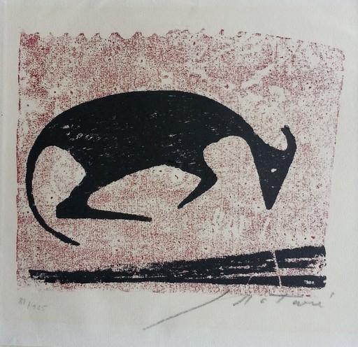 Ewald MATARÉ - Print-Multiple - Liegende Kuh I