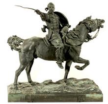 Evgeni Alexandrovich LANCERAY - Sculpture-Volume - Svyatoslav on the Way to Tsargrad