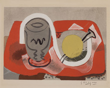 Georges BRAQUE - Print-Multiple - Nature morte au citron