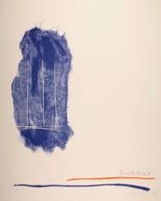罗伯特•马塞維尔 - 版画 - Lines for St. Gallen