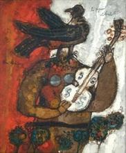 Théo TOBIASSE (1927-2012) - Le Pigeon Violoniste