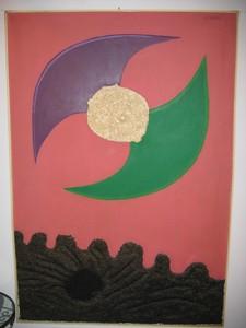 Jean PIAUBERT - Pintura - Il y eut un matin
