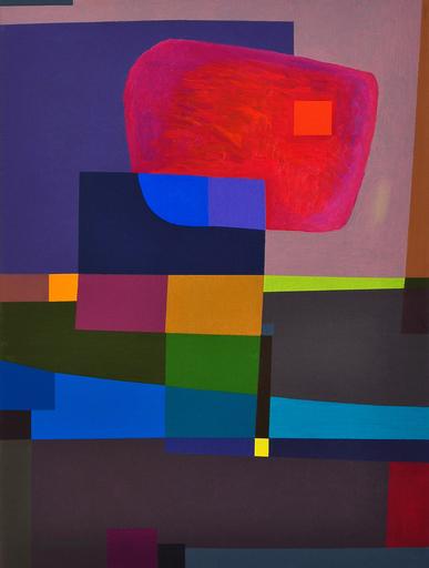 Istvan JARMECZKY - Gemälde - FLOATING STONE