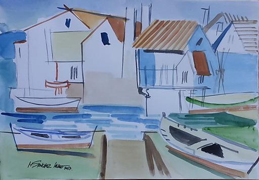 Miguel Angel SANCHEZ LAREO - Zeichnung Aquarell - peirao