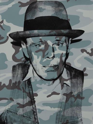 Andy WARHOL - Stampa-Multiplo - Joseph Beuys in Memoriam
