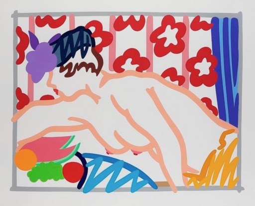 Tom WESSELMANN - Stampa-Multiplo - Judy reaching over table