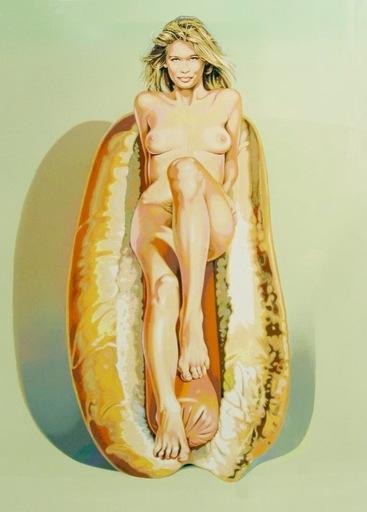 梅尔·拉莫斯 - 版画 - Doggie Dinah