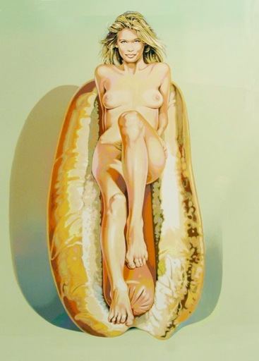 Mel RAMOS - Druckgrafik-Multiple - Doggie Dinah
