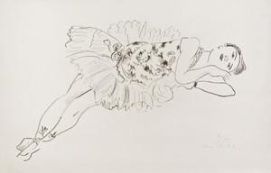 Henri MATISSE, Danseuse Etendue (Dix Danseuses)