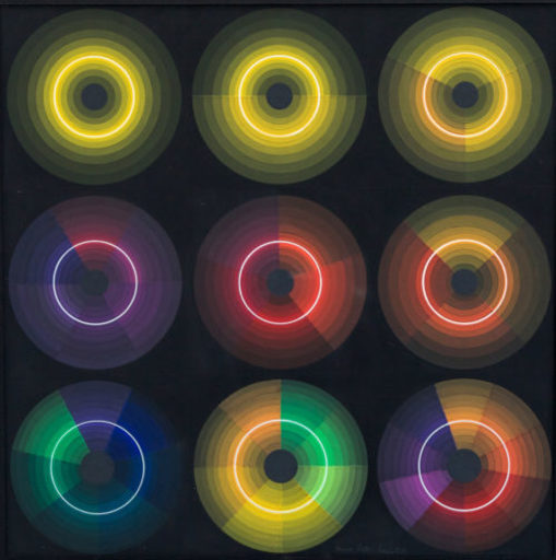 Horacio GARCÍA ROSSI - Gemälde - Couleur lumière Progression