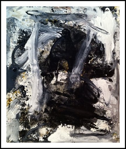 Costel IARCA - Painting - Untitled Nr. 6