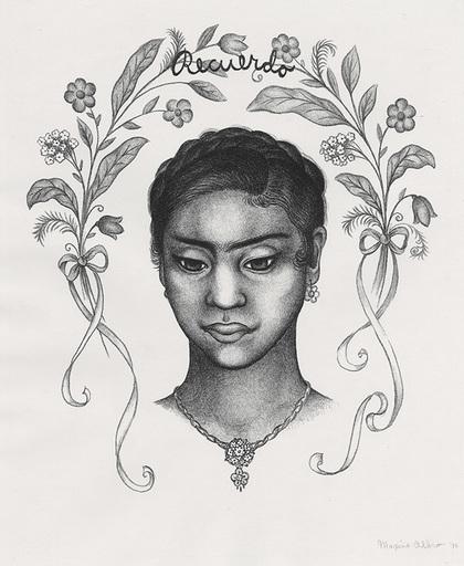 Maxine ALBRO - Grabado - Recuerdo (Memory)