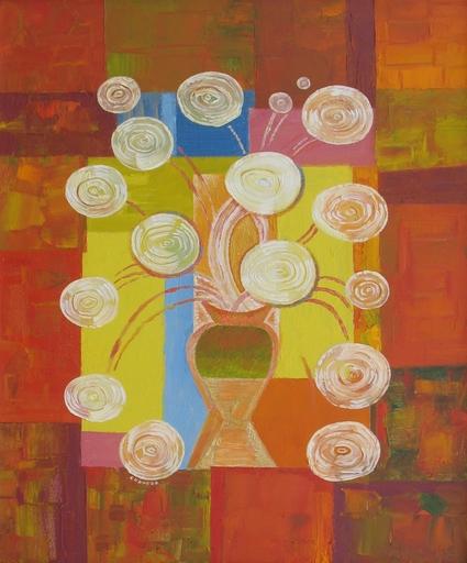 "Sergey BORISOV - Pintura - Bouquet ""Turin-Fiat"""