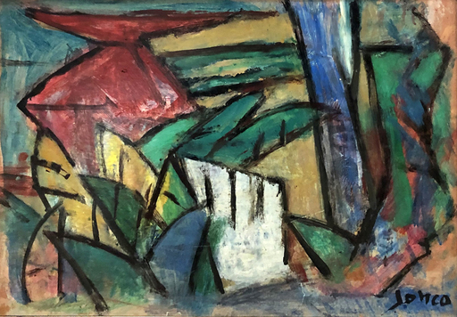 Marcel JANCO - Painting - Composition
