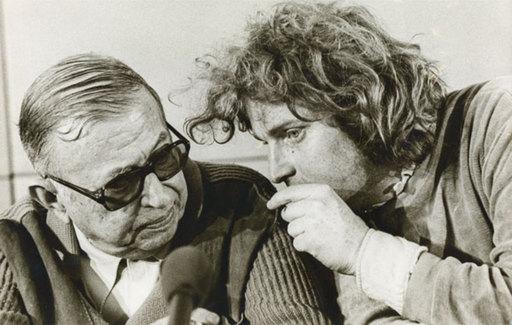 Alain NOGUES - Fotografia - Jean-Paul Sartre et Cohn-Bendit