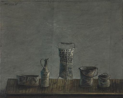 Yosl BERGNER - Gemälde - Vessels