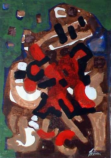 Enrico DE TOMI - Painting - Senza  titolo 2