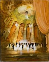 Roger SURAUD - Peinture - La valse de Vienne