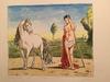 Giorgio DE CHIRICO - Stampa Multiplo - Castore e il suo cavallo