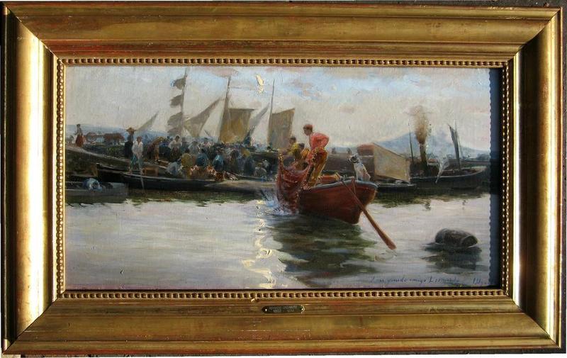 Ignacio UGARTE BERECIARTU - Painting - BILBAO